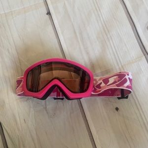 Other - Pink girl snowboarding goggles